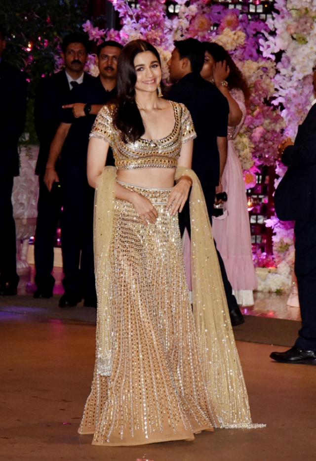 Alia Bhatt goes for gold.
