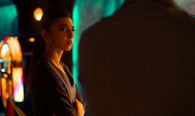 Radhika Apte as Anjali Mathur in <i>Sacred Games</i>.