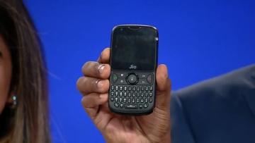 JioPhone 2 announced at the Relaince Jio AGM.