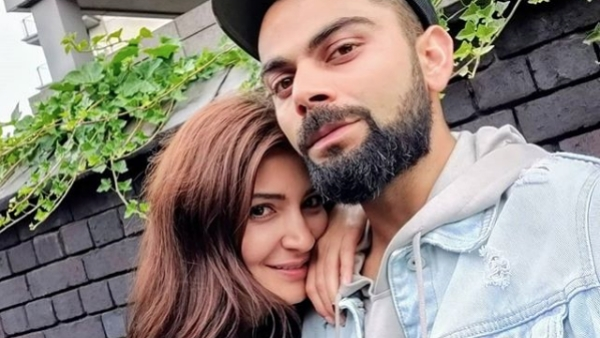 Virat Kohli posted a picture with wife Anushka as the two enjoyed an off day in England before the start of the Test series.