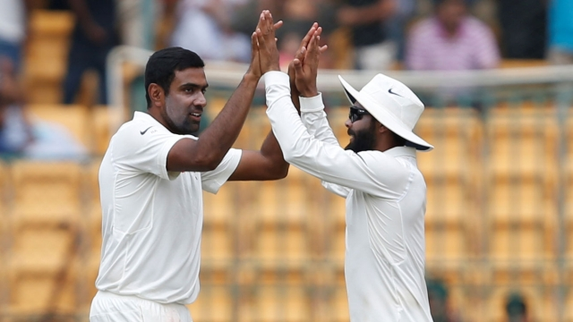 India's premier spin twins Ravichandran Ashwin and Ravindra Jadeja have generally struggled in unfavorable conditions.