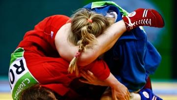 Representational image of athletes playing Sambo.