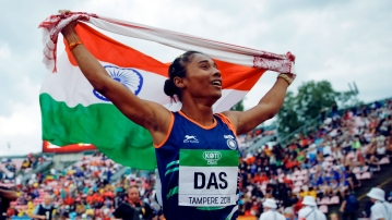20-year-old Hima Das was the first-ever Indian woman to win an athletics gold on the international stage.