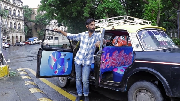 Taxi Fabric made a Mumbai <i>kaali peeli </i>look all the more beautiful.