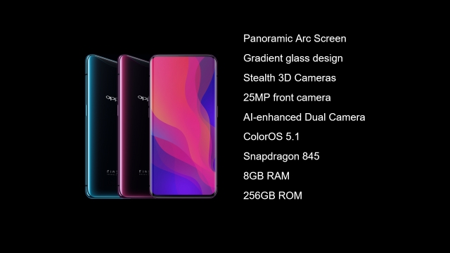 Oppo Find X specifications