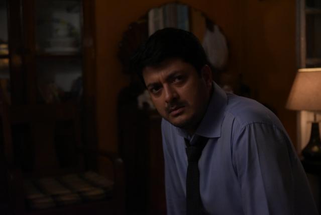 Jishu Sengupta in a still from the movie.