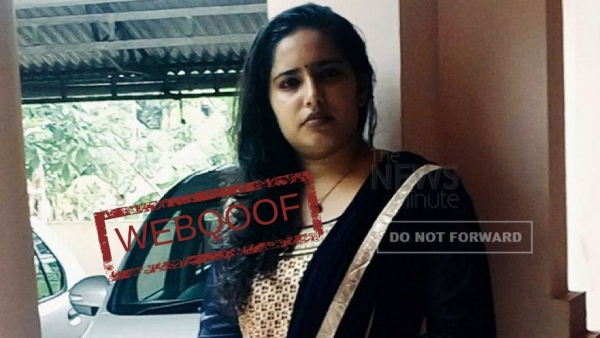 Pathanamthitta-native Dr Anju Ramachandran's image has been falsely embroiled in the Kerala Orthodox church sex-for-silence case.