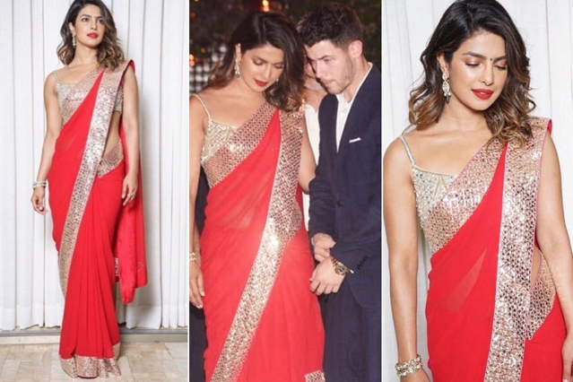 Priyanka Chopra and Nick Jonas came for the after party.