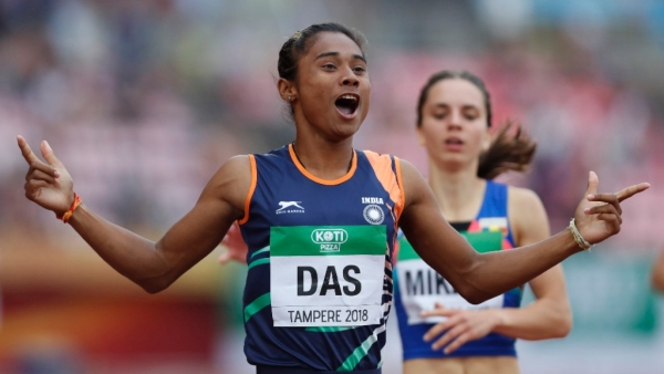 Hima registered a time of 51.46 seconds in the final at the Ratina Stadium in Finland on Thursday.