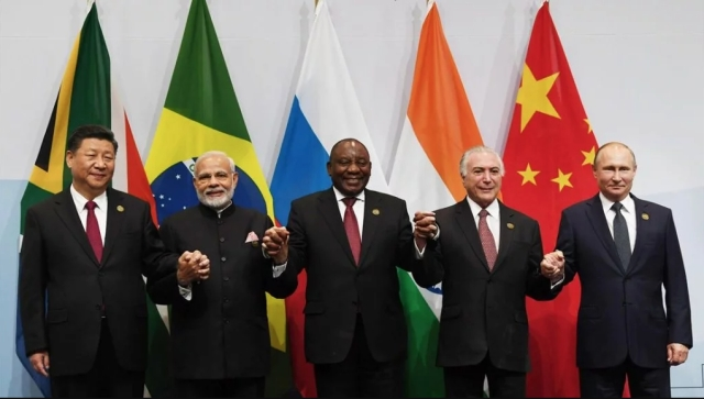 Leaders of the state meet at BRICS Summit in Johannesburg.