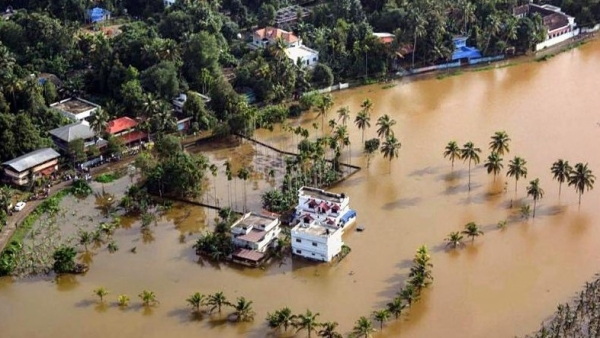 Kerala struggles to cope with floods that have inundated half the state and left at least 79 people dead.