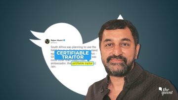 Sreenivasan Jain and his brother Gopal Jain have sent a defamation notice to Rajeev Mantri over is tweets about their father LC Jain.