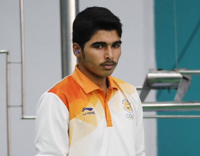 Indian shooter Saurabh Chaudhary bagged the Gold medal in the 10m air pistol event at the 18th Asian Games in Palembang, Indonesia, Tuesday, Aug. 21, 2018.