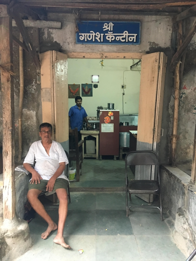 The canteen inside Ranjit Movietone where Dharmendra and Manoj Kumar in their struggling years.