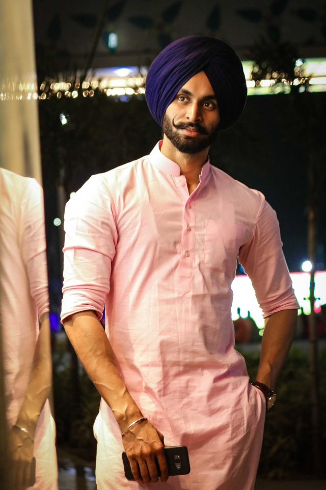 """""""Everybody felt that the fashion industry had little scope for turbaned Sikh men,"""" he says."""