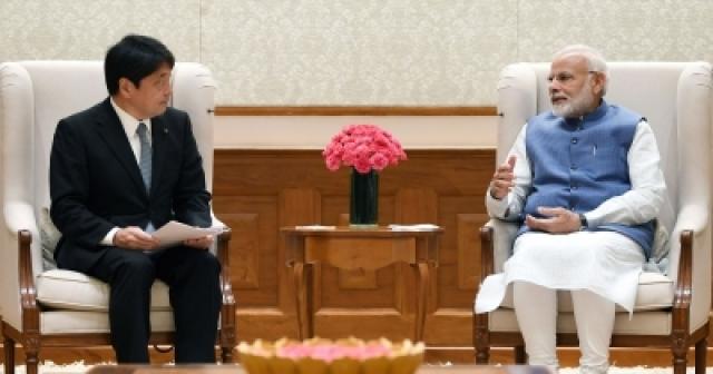 Japanese Defence Minister calls on PM Modi