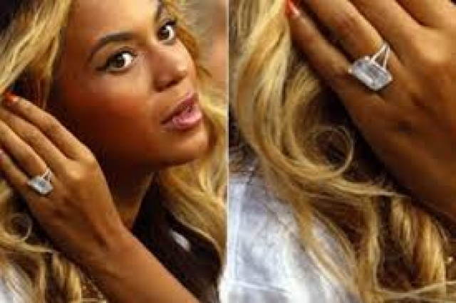 Beyonce married Jay Z in  April 2008.