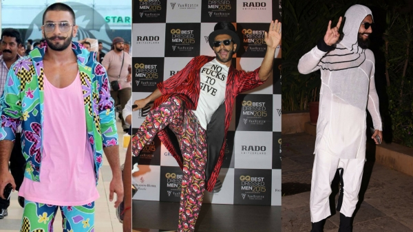 Ranveer Singh at his favourite looks.