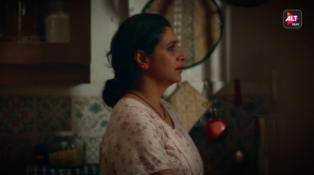 Supriya Pilgaonkar's performance is on point in <i>Home.</i>
