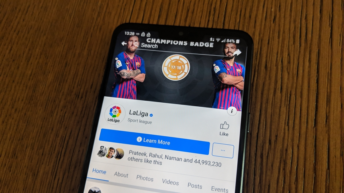 LaLiga Facebook LIVE Streaming: Here's All You Need to Know