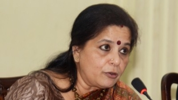 Former Managing Director and Chief Executive Officer of Allahabad Bank Usha Ananthasubramanian.