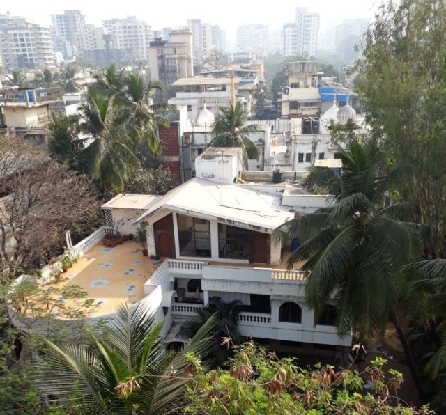 A top view of the Samanta bungalow.