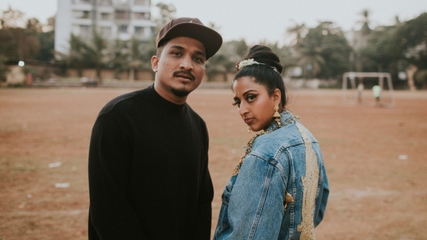 Divine and Raja Kumari have collaborated for <i>City Slums</i>.