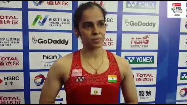 Saina Nehwal speaks about her World Championships third round win over Ratchanok Inthanon of Thailand.