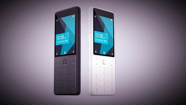 The  Qin AI 4G-enabled feature phone from Xiaomi.