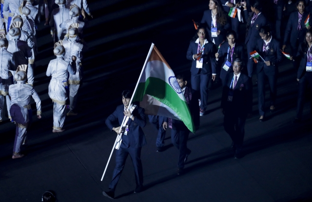 Neeraj Chopra leads the Indian Contingent.