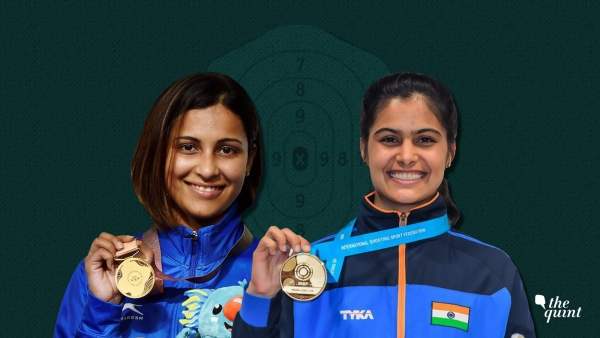 "5 Indian shooters to watch out for at the <a href=""https://www.thequint.com/sports/asian-games"">2018 Asian Games</a>."