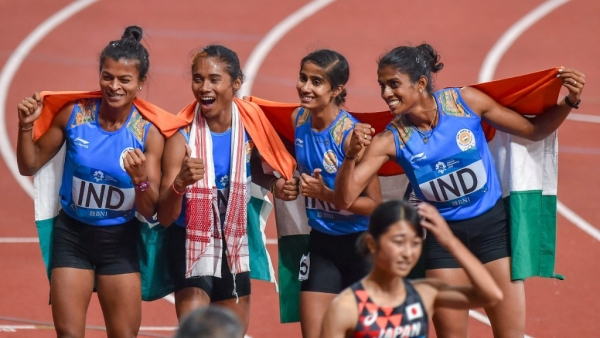 So far, India has won 19 medals in Track and Field events in this year's Asian Games being held in Indonesia.