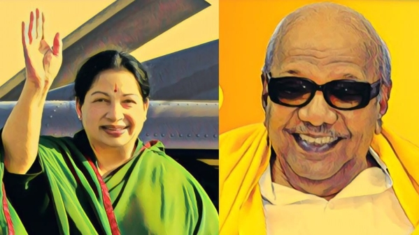 Jayalalithaa and Karunanidhi are the tallest leaders of their times.