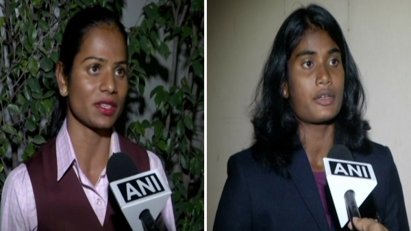 Dutee Chand and Purnima Hembram speak to the media about the upcoming Asian Games.