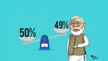 Modi's popularity dropped four percentage points from 53% in January 2018 to to 49% in July 2018.