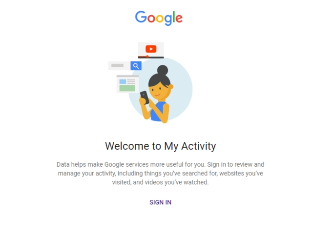 You can control your Google location settings from the My Activity page.