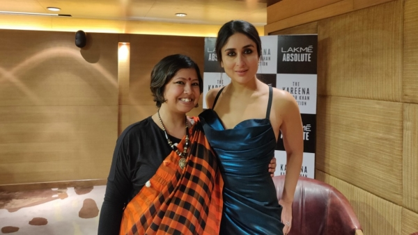 Abira Dhar caught up with Kareena Kapoor Khan right before she walked the ramp at the grand finale of LFW 2018.
