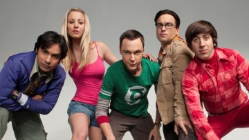 A poster of <i>The Big Bang Theory</i>.