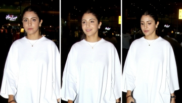 Anushka Sharma landed back home in Mumbai on Thursday morning from England where she was accompanying her husband Virat Kohli.