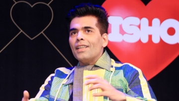 Karan Johar at the launch of <i>Calling Karan Season 2</i>.