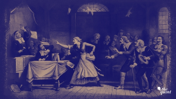 Image of Salem Witch trials used for representative purposes.