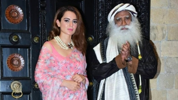 Like nearly everything that the actor does, Kangana Ranaut's conversation with Sadhguru Jaggi Vasudev made news for a multitude of reasons.