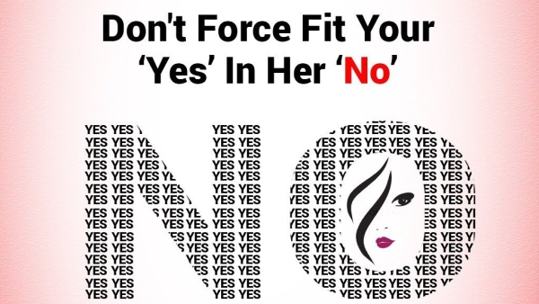 UP Police says, 'Don't Force Fit Your Yes in Her No'; Twitter Lauds Campaign