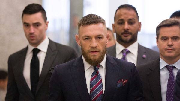 Conor McGregor will return to mixed martial arts on Oct. 6 in Las Vegas.