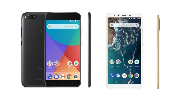 Mi A1 (left) and Mi A2 (right)