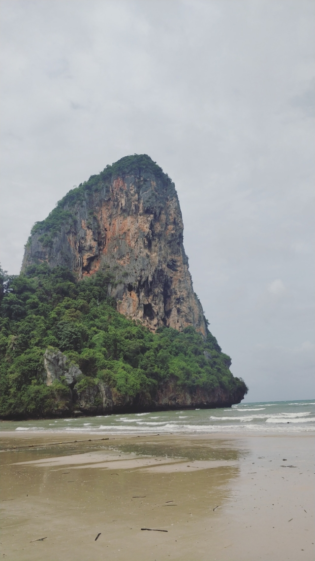The Railay beach in Krabi.