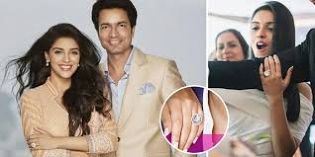 Topping the list of the most expensive celebrity engagement rings is Asin's ring which was presented to her by now husband, Rahul Sharma (CEO, Micromax).