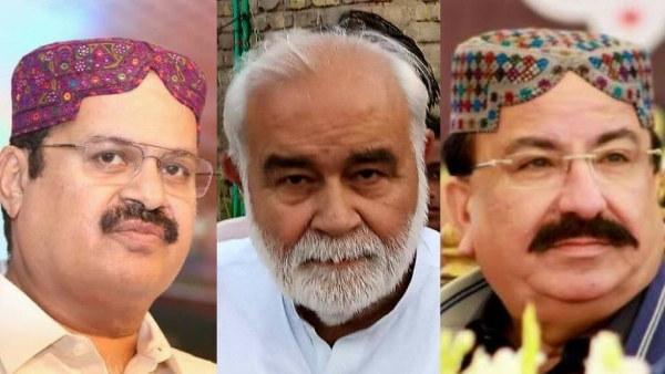 Three Hindu candidates of the Pakistan Peoples Party (PPP) won the General seats in the Muslim-majority areas in Pakistan's Sindh province, in the 25 July elections.
