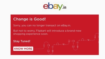 So long, Ebay India.