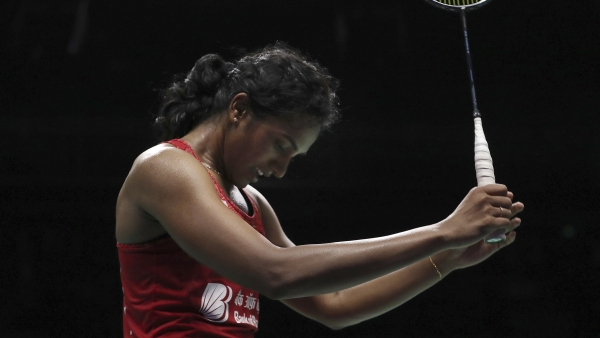 PV Sindhu lost to Carolina Marin in the final of the 2018 Badminton World Championships.